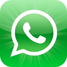 Mom, dad and WhatsApp!